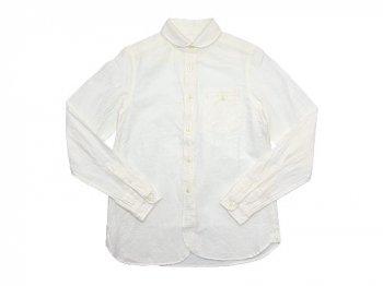 maillot sunset round work shirts WHITE