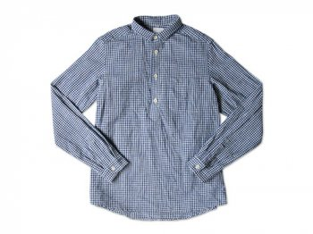 maillot sunset gingham P/O shirts BLUE x WHITE