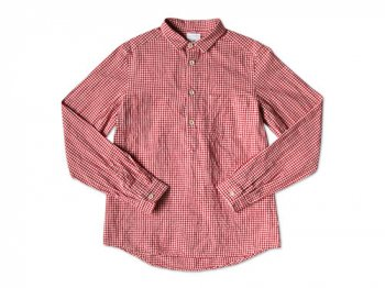 maillot sunset gingham P/O shirts RED x WHITE