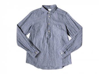 maillot sunset gingham P/O shirts BLUE x PURPLE