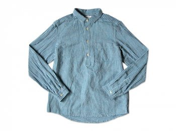 maillot sunset gingham P/O shirts SAX x BLUE