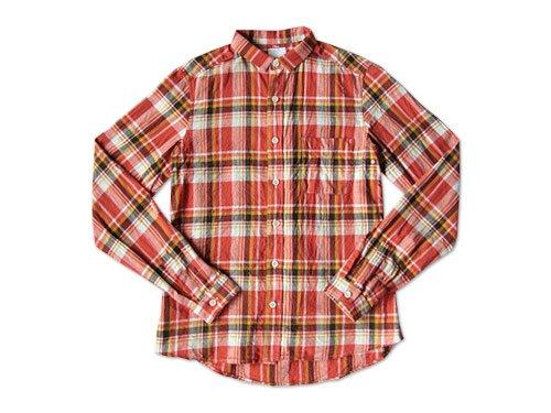 maillot madras small collar shirts