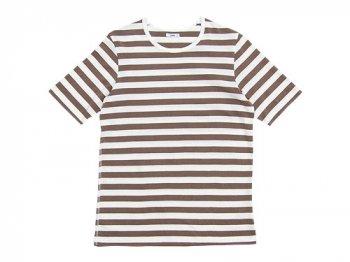 maillot ボーダー半袖Tシャツ CAFE
