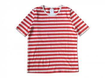 maillot ボーダー半袖Tシャツ ORANGE