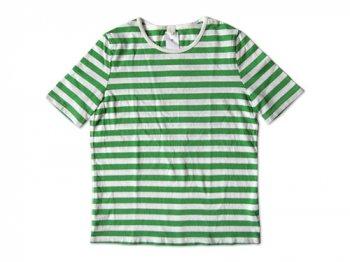 maillot ボーダー半袖Tシャツ GREEN