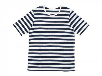maillot ボーダー半袖Tシャツ NAVY