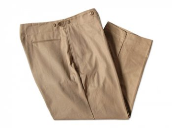 TUKI Cropped Pants KHAKI