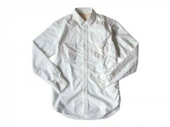 ordinary fits かくしB/Dシャツ WHITE