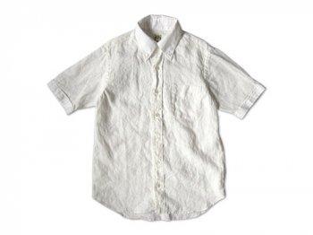 EEL リンカーン 半袖シャツ 11WHITE