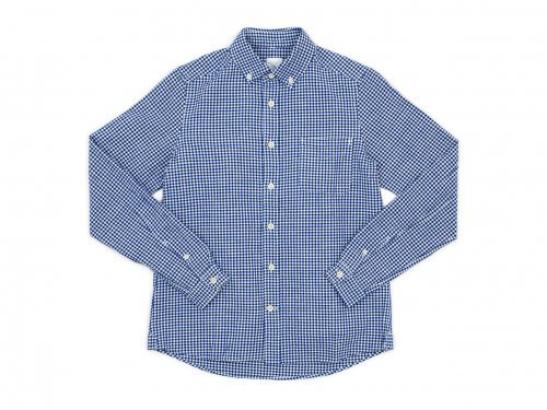 maillot sunset gingham B.D. shirts BLUE x WHITE