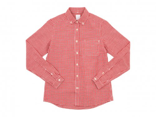 maillot sunset gingham B.D. shirts RED x WHITE