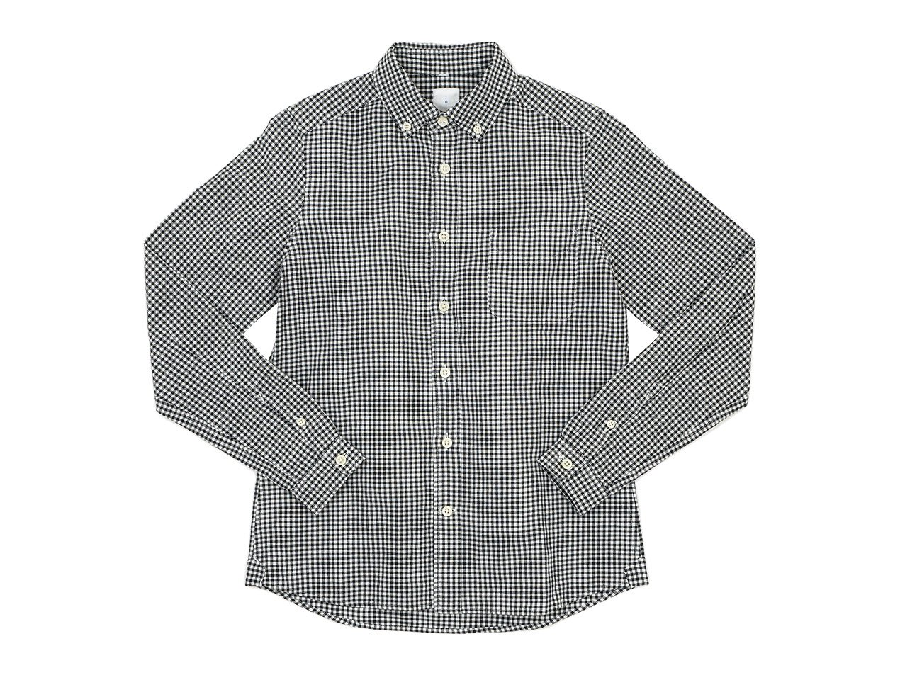 maillot sunset gingham B.D. shirts / round work shirts