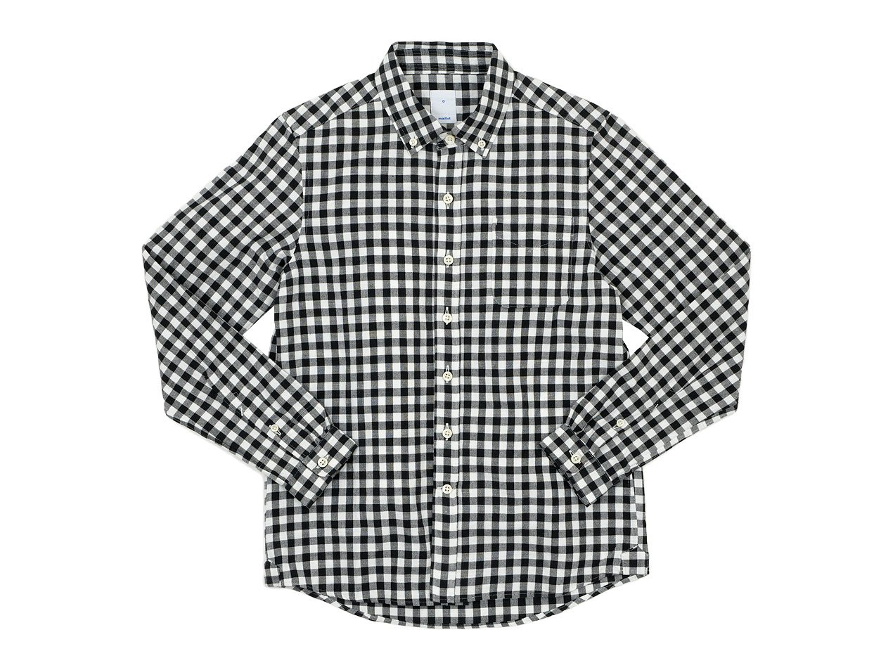 maillot sunset big gingham B.D. shirts BIG BLACK x WHITE