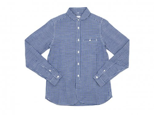 maillot sunset gingham round work shirts