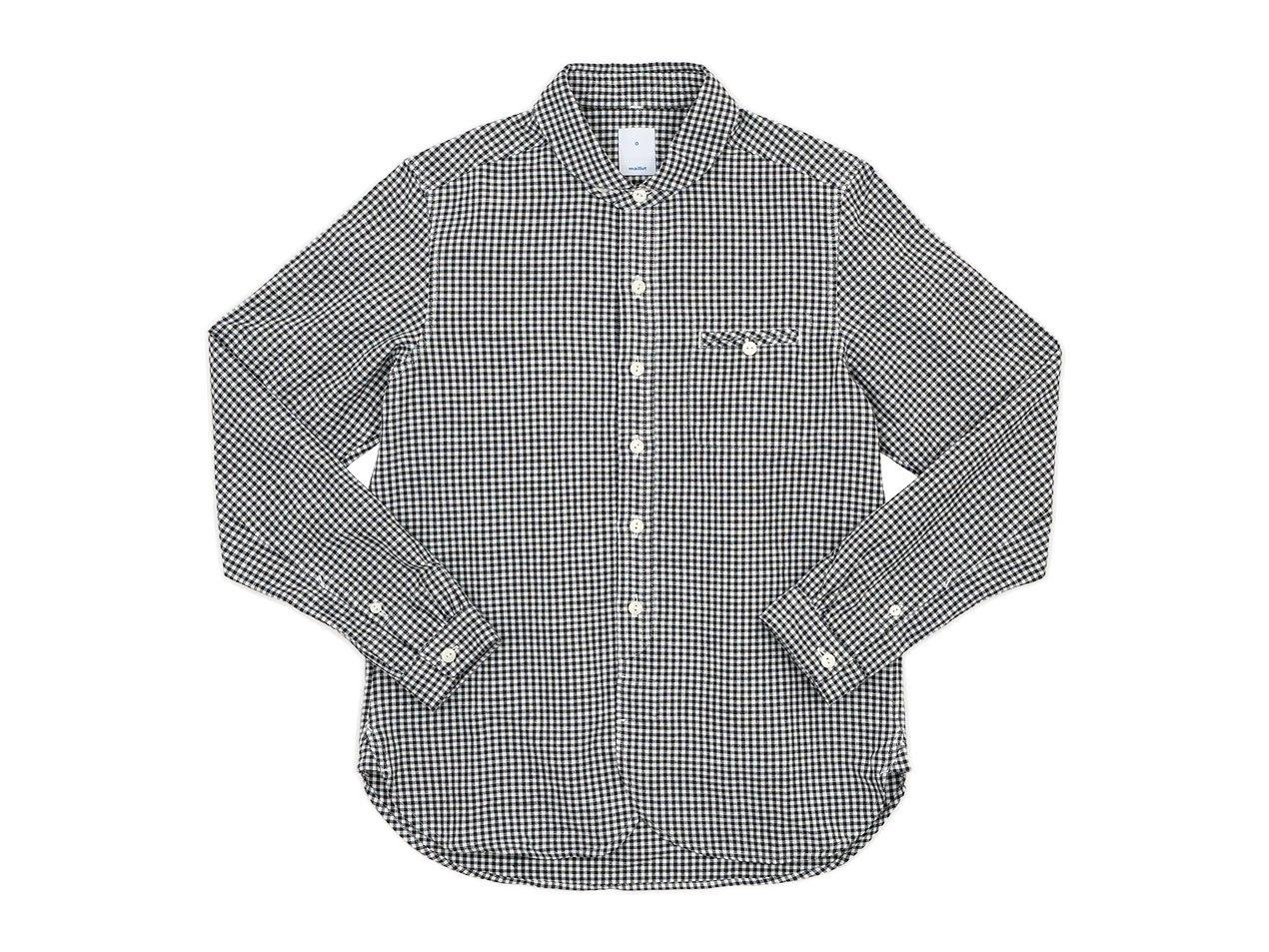maillot sunset gingham round work shirts BLACK x WHITE