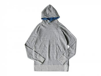 maillot back color pull parka TOP GRAY