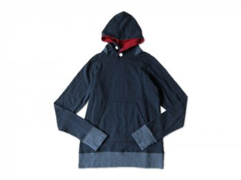 maillot back color pull parka NAVY
