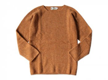 NOR' EASTERLY WIDE NECK SWEATER CUMMIN