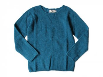 NOR' EASTERLY WIDE NECK SWEATER ATLANTIC SPRAY