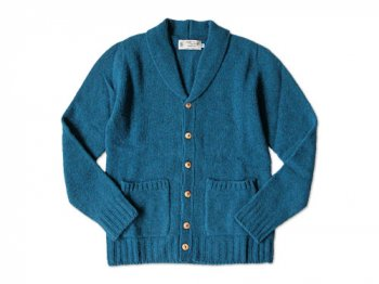 NOR' EASTERLY SHAWL CARDIGAN ATLANTIC SPRAY