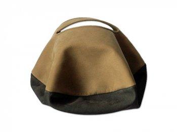 カンダミサコ circle bag mini 16:MUSTARD x OLIVE