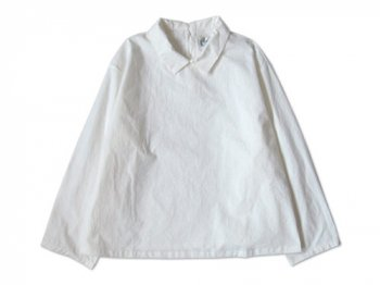 Charpentier de Vaisseau BUTTON BLOUSE WHITE
