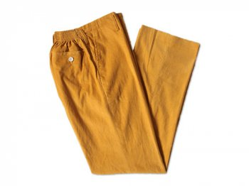 Charpentier de Vaisseau CORDUROY SCHOOL PANTS YELLOW