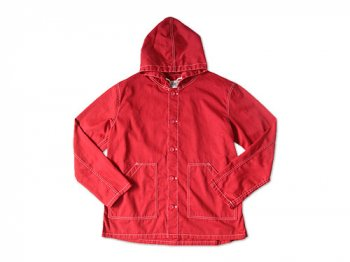 Charpentier de Vaisseau HOODED BLOUSON RED