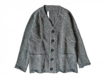 Honor gathering nordic sheep low gayge V cardigan GRAY