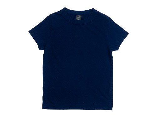 homspun 天竺半袖Tシャツ ネイビー 【6271】
