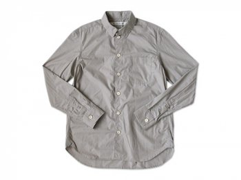 EEL 陶器釦のシャツ 16GRAY