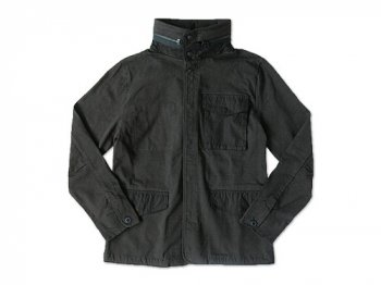 CURLY JZ RIP FEILD JACKET INK BLACK