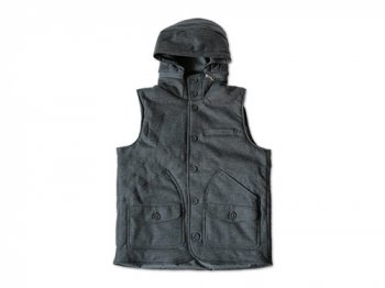 CURLY COMPRESSION VEST GRAY