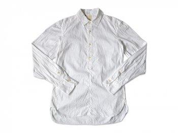 TATAMIZE P/O SHIRTS Plain WHITE