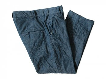 ordinary fits 3/4 TROUSERS INDIGO