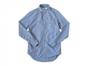 ordinary fits BARISTA SHIRT BLUE GINGHAM