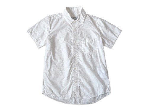 ordinary fits SHIRRING SHIRT WHITE