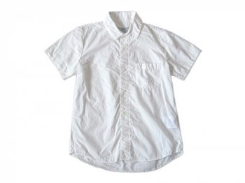 ordinary fits SHIRRING SHIRT WHITE
