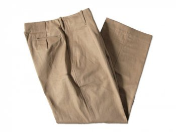 TUKI tuck in trousers 03khaki