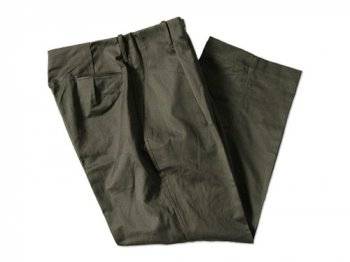 TUKI tuck in trousers 04olive drab