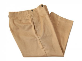 TUKI cropped pants 20camel