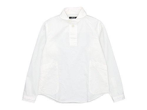 【再入荷】 LOLO コットンプルオーバーシャツ