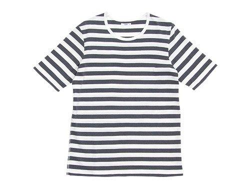 maillot ボーダー半袖Tシャツ GRAY