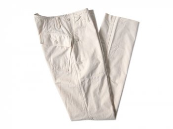 TATAMIZE BAKER PANTS OFF WHITE