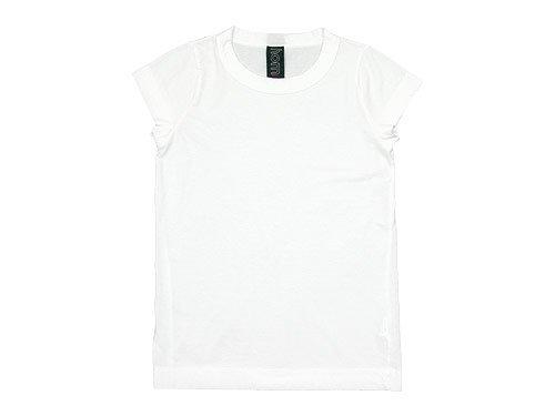 homspun 天竺フレンチスリーブTシャツ サラシ 【6906】