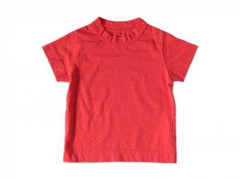 【Kid's】 homspun 天竺 半袖Tシャツ レッド