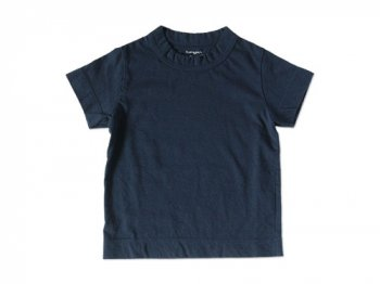 【Kid's】 homspun 天竺 半袖Tシャツ ネイビー