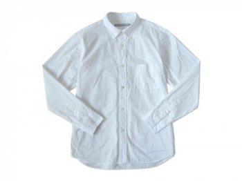 STANDART AT HAND Smith レギュラーカラーシャツ WHITE