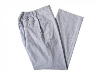 Charpentier de Vaisseau SCHOOL PANTS SEERSUCKER NAVY STRIPE