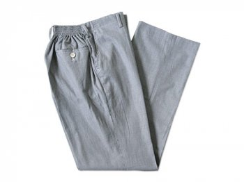 Charpentier de Vaisseau SCHOOL PANTS HOUND'S TOOTH BLACK x WHITE